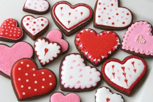 V-day cookies