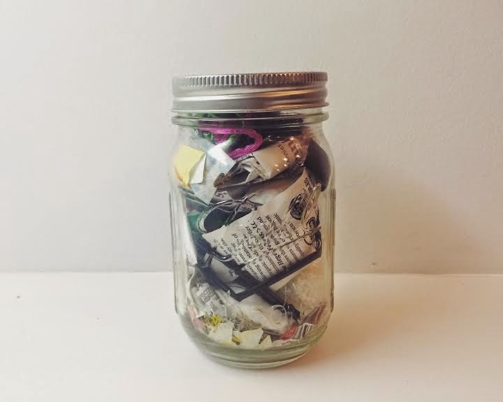 Lauren Singer can fit two year's worth of trash into a single mason jar. Photo credit to Trash is for Tossers.
