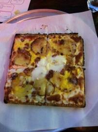 Korean Waffle Pizza